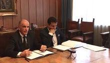 Augusto Rollandin e Roberto Reggi, Direttore Agenzia Demanio
