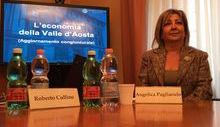 Angelica Pagliarulo, direttore Bankitalia Vda
