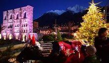 Video Aosta e Marché Vert Noel