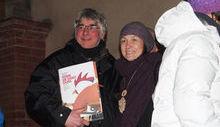 Il Premio a Luciano Savin ritirato dal figlio Mauro