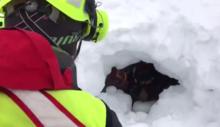 soccorso alpino valdostano, valanga