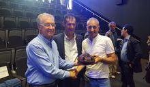Riccardo Moret, Claudio Restano e Ivan Gotti