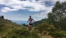 Franco Collé al Trail dell'Oasi Zegna - Foto Syrunning Italia