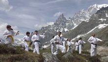 I ragazzi dello Seishinkai-Karate