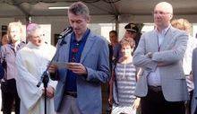 Fabrizio Roscio inaugura la Foire d'été 2017