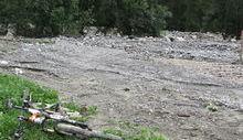 Esondazione a Ollomont