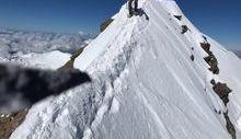 Recupero di due alpinisti sul Lyskamm