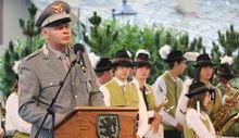 Il 49° anniversario del Corpo forestale
