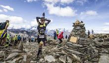 Javi Dominguez al Col de la Crosatie - Foto Stefano Jeantet