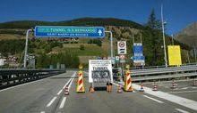 Chiusura del tunnel del Gran San Bernardo