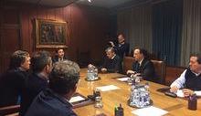 Conferenza stampa Giunta dimissioni Perron