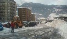 Russo - sgombero neve