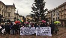 La protesta dei diplomati magistrali