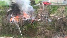 Incendio regione Borgnalle