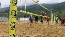 Inaugurazione Beach Volley Stade