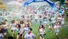 Holi Splash Run 2018 - Foto di Simone Fortuna