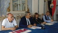 Da sx Filippo Torre, Antonio Fosson, Antonella Marcoz e Philippe Bich