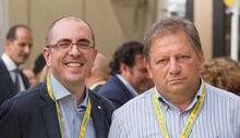 Richard Lanièce e Giuseppe Balicco