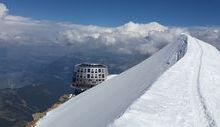 Il rifugio del Goûter, via normale francese Monte Bianco