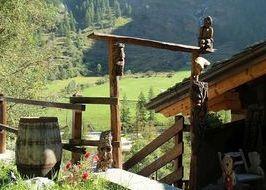 Sculture in legno a Valsavarenche