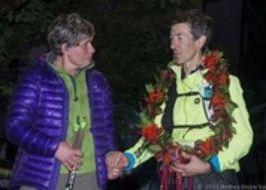 Tor des Géants 2015, il vincitore è Patrick Bohard. L'arrivo a Courmayeur