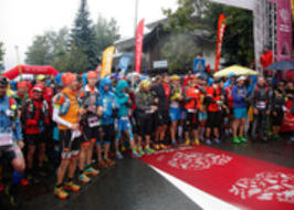 Tor des Géants 2015 il video della partenza da Courmayeur