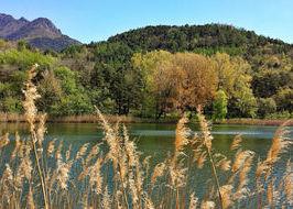 Il lago di Villa a Challand-Saint-Victor