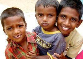bambini felici e tristi