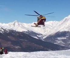 Soccorso Alpino Valdostano (foto d'archivio)