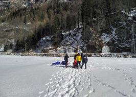Il recupero delle vittime dell'incidente sulla cascata di ghiaccio di Gressoney