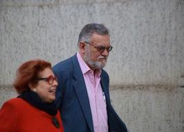 Marco Bonetti accompagnato dall'avvocato Foderà