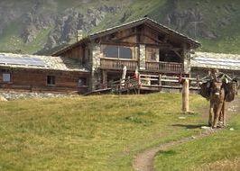 Il rifugio Mont Fallère