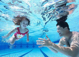 Società Nazionale di Salvamento, nuoto, bambini, piscina