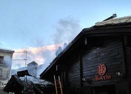 Incendio Bocciofila Sant'Orso