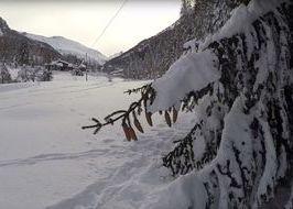 Neve in Valsavarenche