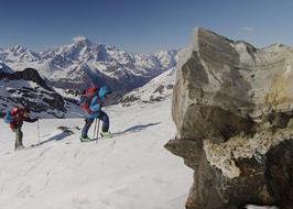 giro sci-alpinistico della Valle d'Aosta