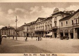 Piazza Chanoux - passato