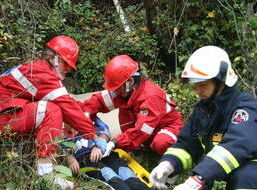 Volontari soccorso Valpelline