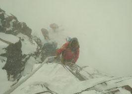 recupero scialpinisti bloccati sul Monte Rosa