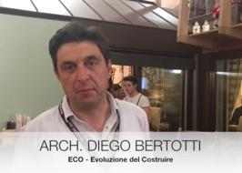 Diergo Bertotti, Eco del costruire