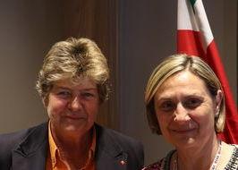 Susanna Camusso e Vilma Gaillard