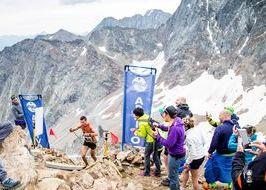 Nadir Maguet vincitore Aosta Becca di Nona (foto Garbolino)