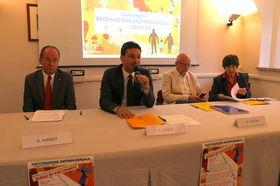 La conferenza stampa di presentazione della Campagna antinfluenzale