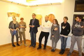 L'inaugurazione della mostra al Castello di Bosses