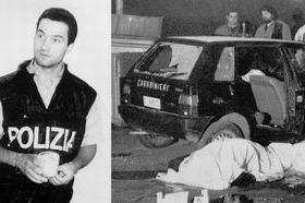 Marino Occhipinti nei giorni in Polizia e uno degli agguati della
