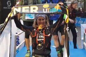 Francesca Canepa al traguardo
