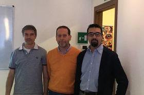 Valdex Da sx Massimo Pesando, Mauro Salmin e Francesco Yoccoz