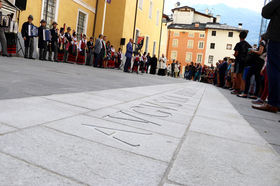 Inaugurazione Piazza Roncas