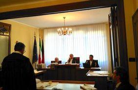 L'udienza alla Corte dei Conti.