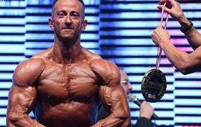 Fabio Riggio, body building